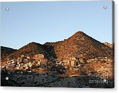 Jerome Arizona At Sunrise Acrylic Print