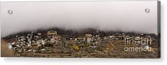 Jerome Arizona Beneath The Clouds Acrylic Print