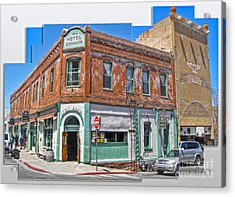 Jerome Arizona - Hotel Conner - 01 Acrylic Print by Gregory Dyer