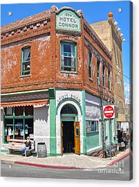Jerome Arizona - Hotel Conner - 02 Acrylic Print by Gregory Dyer