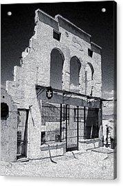 Jerome Arizona - Jailhouse Ruins Acrylic Print by Gregory Dyer