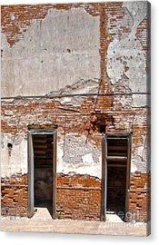 Jerome Arizona - Ruins Acrylic Print by Gregory Dyer
