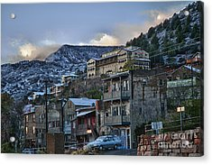Jerome Arizona Sunrise Hdr Acrylic Print