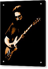 Jerry And His Guitar Acrylic Print