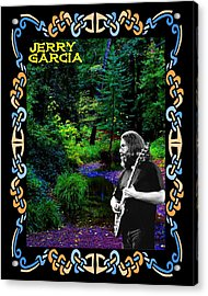 Acrylic Print featuring the photograph Jerry At Psychedelic Creek by Ben Upham