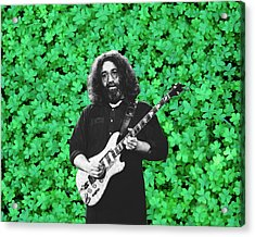 Acrylic Print featuring the photograph Jerry Clover 1 by Ben Upham