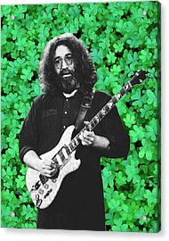 Acrylic Print featuring the photograph Jerry Clover 4 by Ben Upham