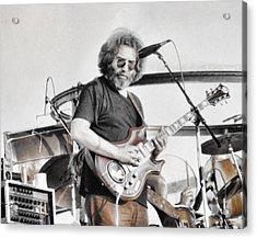 Jerry Garcia Acrylic Print