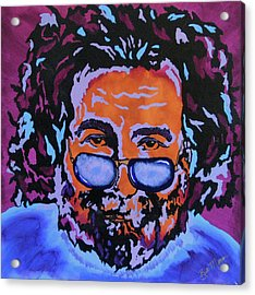 Jerry Garcia-it's A Me Thing Acrylic Print