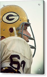 Jerry Kramer Close Up Acrylic Print by Retro Images Archive