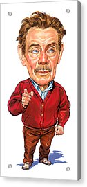 Jerry Stiller As Frank Costanza Acrylic Print by Art