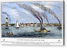 Jersey City, 1844 Acrylic Print by Granger