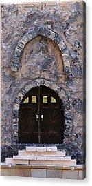 Jerusalem Doorway Acrylic Print by Robert Handler