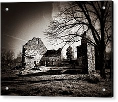 Jerusalem Mill Ruins Acrylic Print
