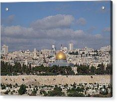 Jerusalem Old City Acrylic Print