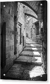 Jerusalem Street Acrylic Print