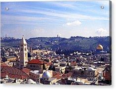 Jerusalem Acrylic Print