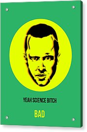 Jesse Breaking Bad Poster 2 Acrylic Print by Naxart Studio