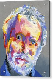 Jesse Winchester Acrylic Print by Stephen Anderson