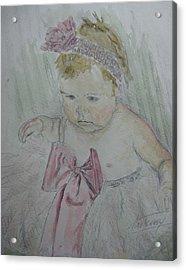 Jessine Susan Acrylic Print by Stan Tenney