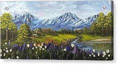 Jessy's View Acrylic Print