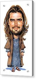 Jesus Acrylic Print by Art