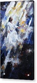 Jesus Ascending Acrylic Print by Carole Foret