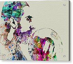 Jesus Big Lebowski Acrylic Print by Naxart Studio