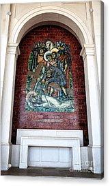 Jesus Cai Pela Terceira Vez Acrylic Print by John Rizzuto