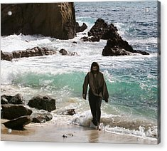 Jesus Christ- Anyone Who Has Seen Me Has Seen The Father Acrylic Print