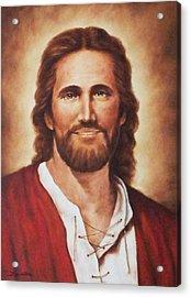 Jesus Christ Acrylic Print by Bryan Ahn