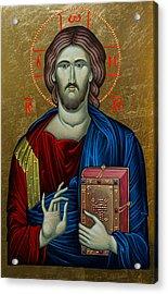Jesus Christ Acrylic Print by Claud Religious Art