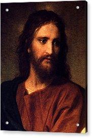 Acrylic Print featuring the digital art Jesus Christ by Heinrich Hofmann