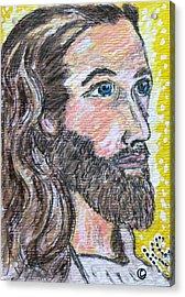 Jesus Christ Acrylic Print by Kathy Marrs Chandler