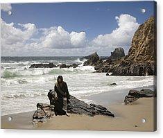 Jesus Christ- Make Time For Me I Miss You Acrylic Print