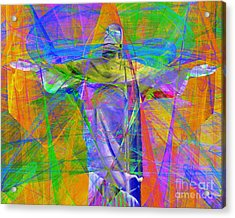 Jesus Christ Superstar 20130617 Horizontal Acrylic Print by Wingsdomain Art and Photography