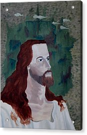Jesus Christ Acrylic Print by Susan Roberts
