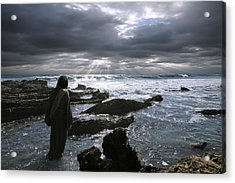 Jesus Christ- The Heavens Declare The Glory Of God Acrylic Print
