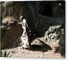 Jesus Christ- Walk In The Light While You Can Acrylic Print