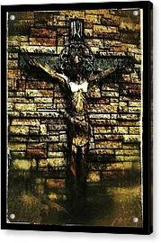 Jesus Coming Into View Acrylic Print