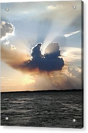 Jesus Has Risen  Acrylic Print by Rebecca Poole