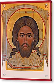 Jesus Head Icon Acrylic Print