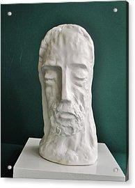 Jesus In Prayer 2014 Acrylic Print