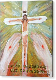 Jesus - King Of The Jews Acrylic Print