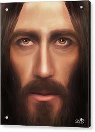 My Jesus Acrylic Print by Mark Spears