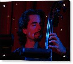Jesus On The Bass Acrylic Print