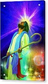 Jesus Rocks Acrylic Print