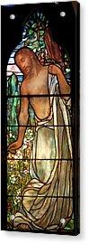 Jesus Stained Art - St Paul's Episcopal Church Selma Alabama Acrylic Print