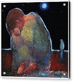 Jesus The Boy Acrylic Print