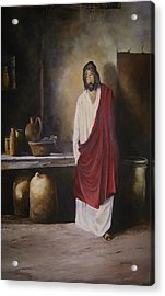 Jesus- The First Miracle- Acrylic Print by James Neeley